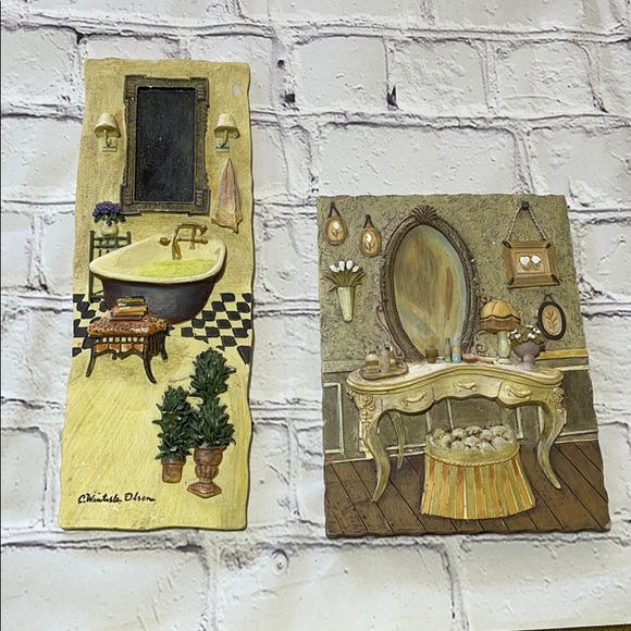 Accents Bathroom Wall Hangings Poshmark